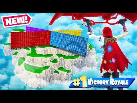Spawn Island WALL WARS *NEW* Gamemode in Fortnite Battle Royale