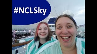 """Evening Entertainment Night 1 😁  Norwegian Sky """"All-You-Can-Drink"""" Cruise Vlog [ep4]"""
