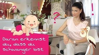 Schwangerschaftsanzeichen? Daran erkennst du, ob du schwanger bist!
