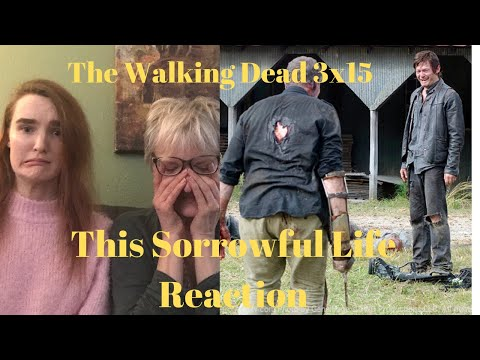 "The Walking Dead Season 3 Episode 15 ""This Sorrowful Life"" REACTION!!"