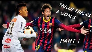 Neymar Jr - Skills,Tricks & Goals|2009-2015| Part 1 | HD