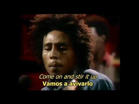 Stir It Up - Bob Marley (LYRICS/LETRA) (Reggae)