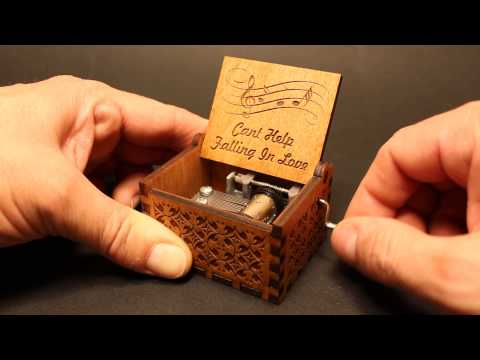 Can't Help Falling in Love - Elvis Presley - Music box by Invenio Crafts