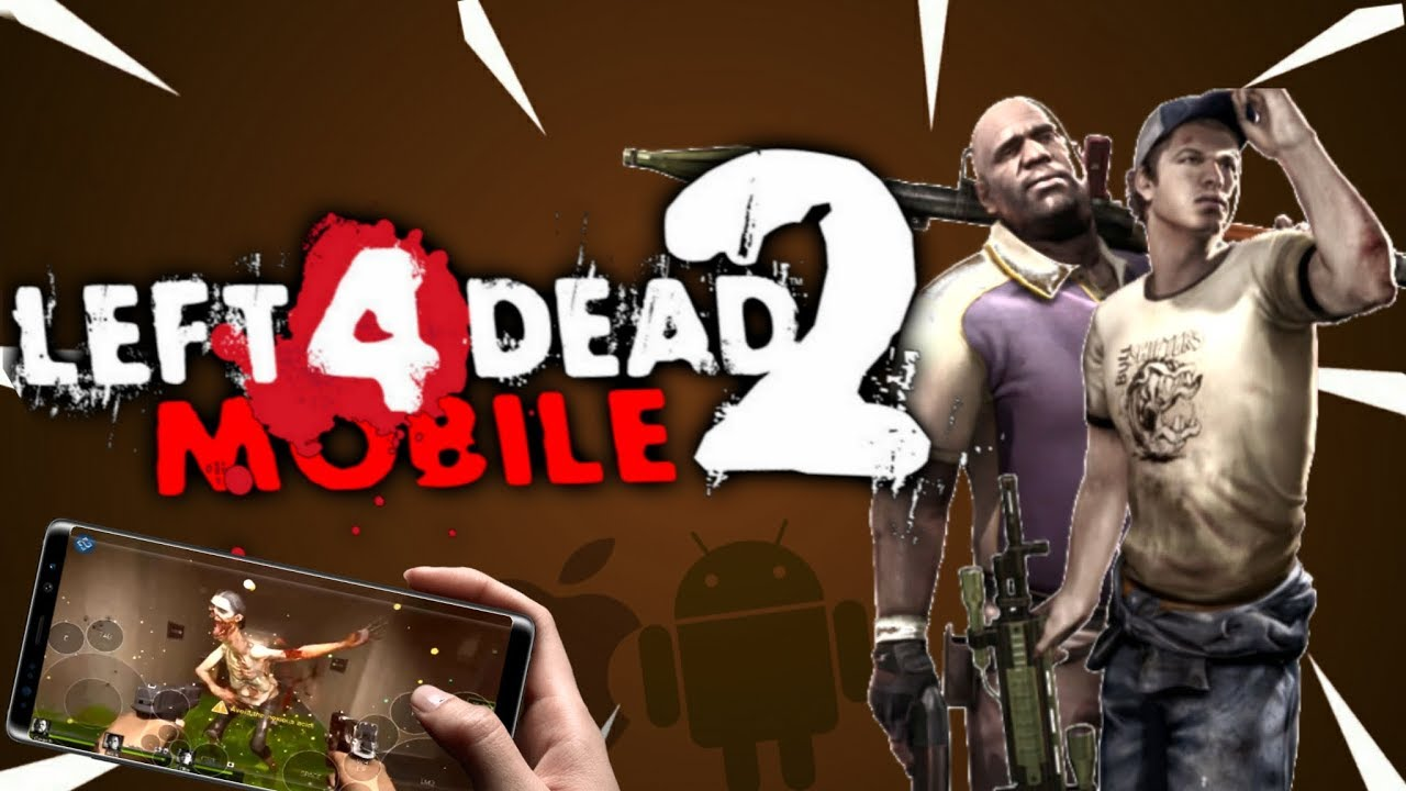left 4 dead 2 para android gameplay