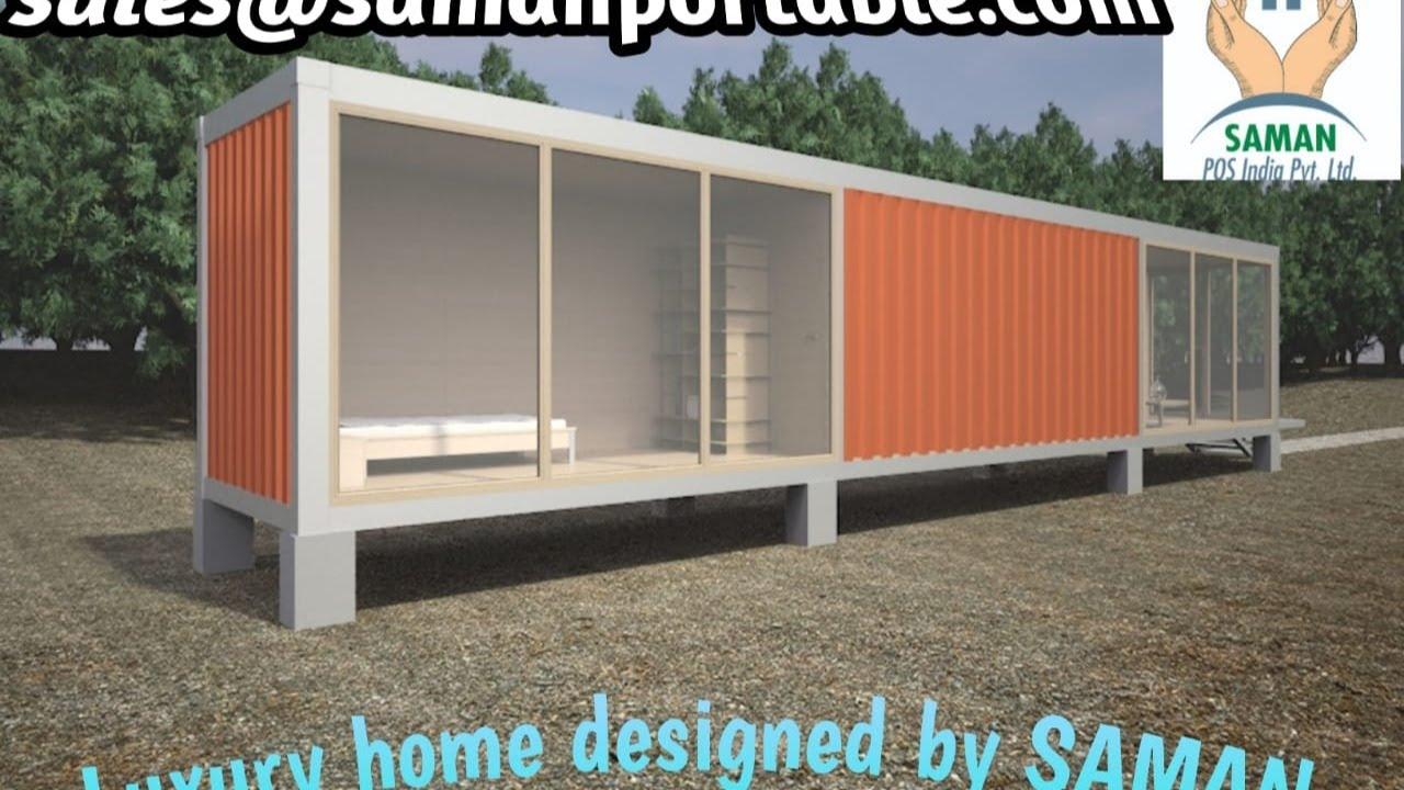 Porta Cabin On Terrace Amazing Porta Cabin Designs 2020 Youtube