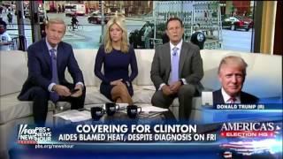 Clinton campaign pledges more health information after pneumonia diagnosis