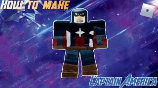 Comment faire Captain America (Endgame) dans Roblox Superhero Life 2