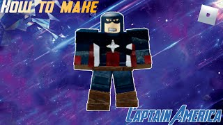 How to make Captain America (Endgame) in Roblox Superhero Life 2