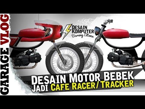 Desain Motor Bebek Jadi Moped [Garage Vlog]
