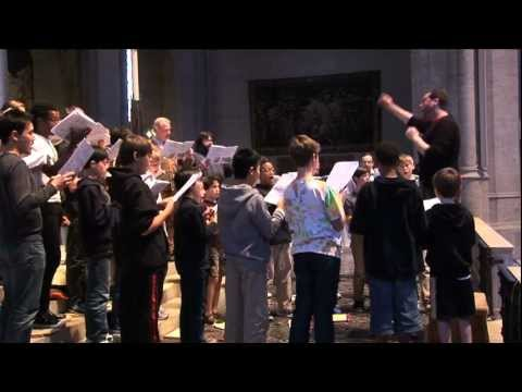 Grace Cathedral Choir Making New CD