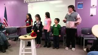 UELRP Inupiaq Language Class Youth song