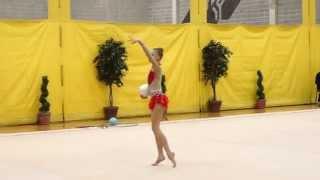 trillium rhythmic 2015 anastasia shanko ball national junior
