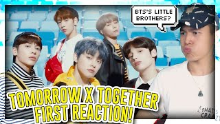 FIRST TIME REACTING TO TXT/TOMORROW X TOGETHER![REACTION]