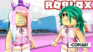 TROLEO COPYING CLOTHES in FASHION FAMOUS by ROBLOX (AND THEY ARE ENFADAN!) 😱