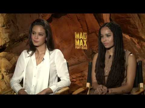 Mad Max: Fury Road: Zoe Kravitz & Courtney Eaton Official Movie Interview