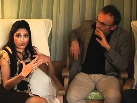 DP/30: Slumdog Millionaire, director Danny Boyle, actors Frieda Pinto, Dev Patel