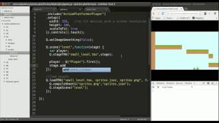 HTML5 Mobile Game Development Tutorial, Follow the Player with a Camera