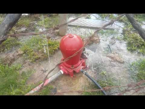 Carneiro hidráulico :finalmente,agora funciona.
