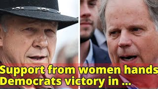 Support from women hands Democrats victory in Alabama: Exit polls