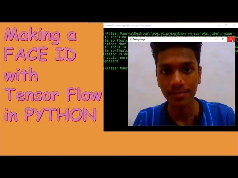 Making a FACE ID program with Tensor Flow in Python - YouTube