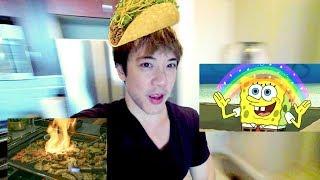 Burger + Taco + Korean BBQ Lunch ???