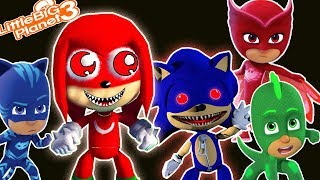 PJ Masks | *TwiSted* Sonic & Knuckles | LittleBigPlanet 3