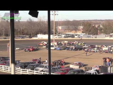 IMCA Sport Mod Heats Spring Nationals Beatrice Speedway 3 14 15