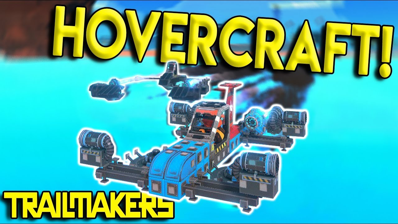 ULTIMATE HOVERCRAFT RACE CHALLENGE! - Trailmakers Challenge Multiplayer  Gameplay - New Race Update