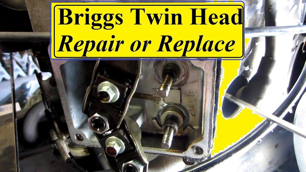 Briggs And Stratton Engine >> Briggs Intek Bent Push Rods - YouTube