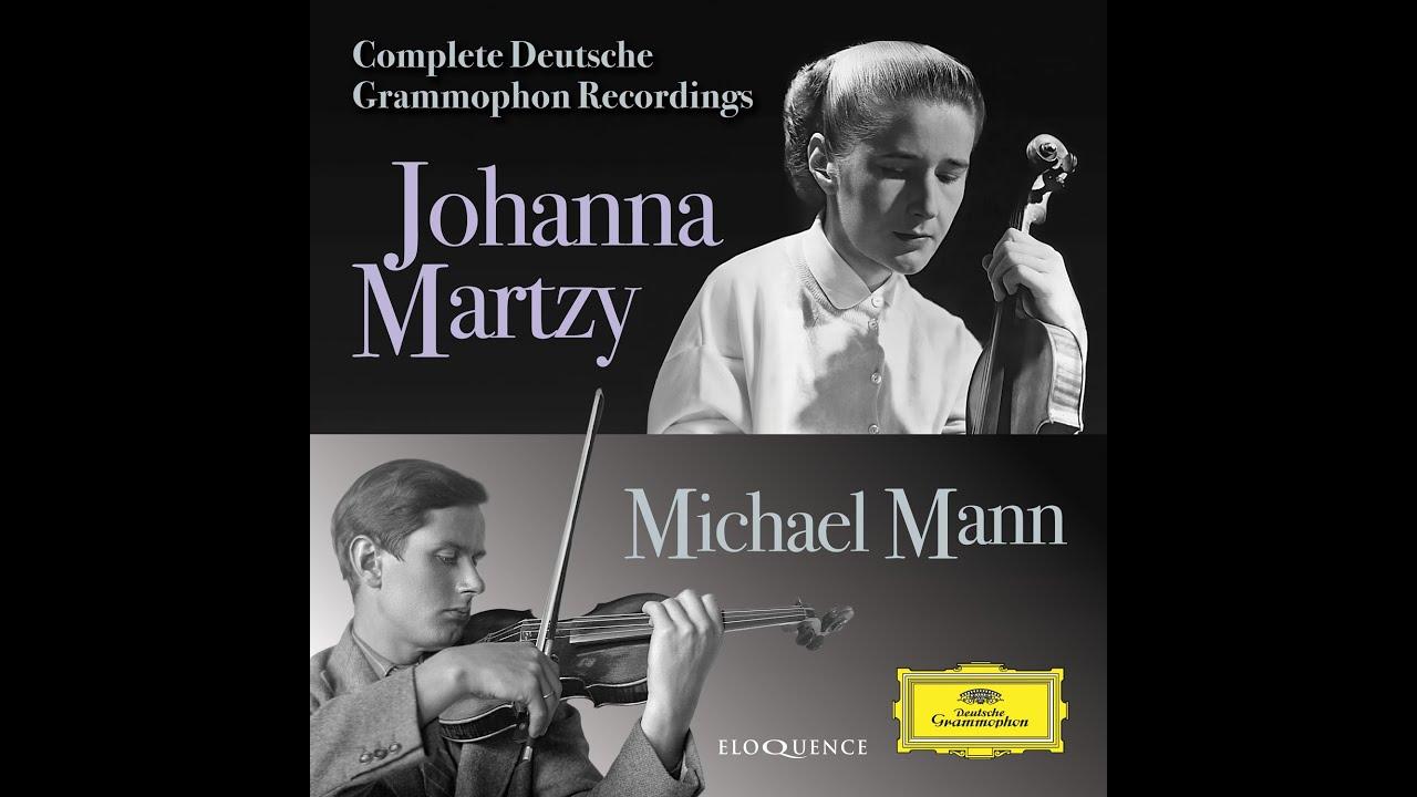 Eloquence Classics Release Batch 3, 2021 - Johanna Martzy, Michael Mann