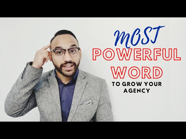 Most powerful word to grow agency | SMMA with Abul Hussain