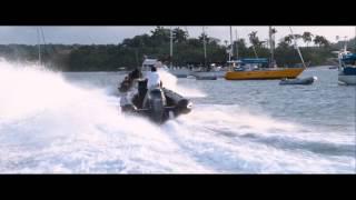 Quantum Of Solace boat scene