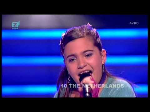 Junior Eurovision 2007: Lisa, Amy & Shelley - Adem In, Adem Uit (The Netherlands)