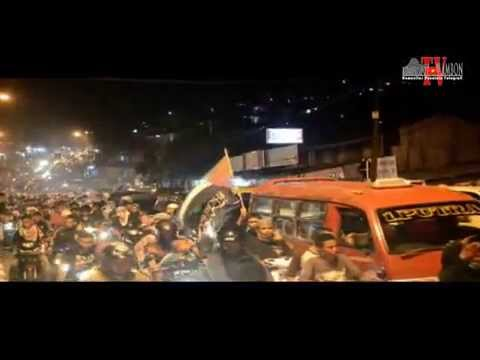 Pawai Malam Takbiran Idul Fitri 1435H Kota Ambon-Maluku
