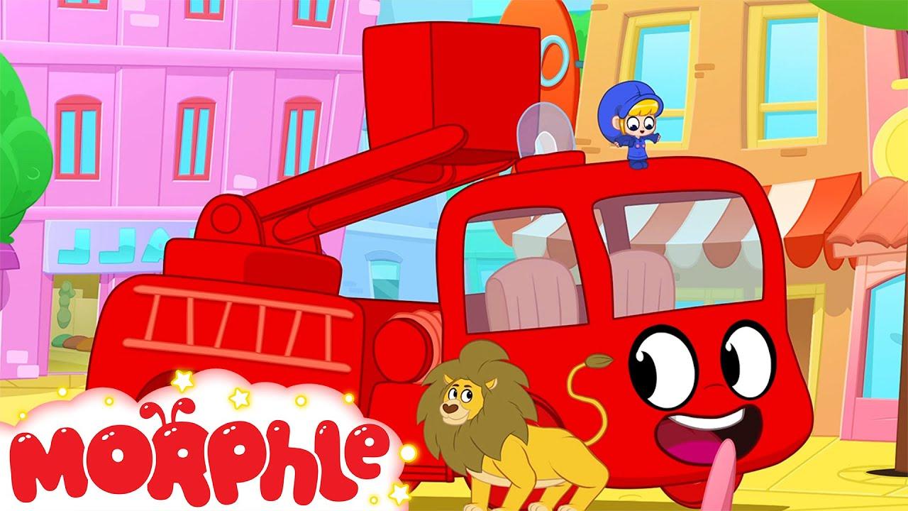 Morphle the Fire Truck - Kids Cartoon | My Magic Pet Morphle