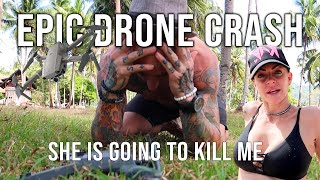 I Crashed the DRONE in El Nido, Philippines