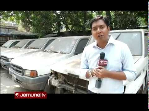 Car unused in Health Ministry, Bangladesh
