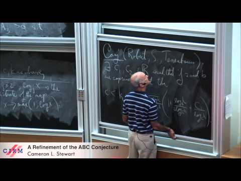 Cameron L. Stewart: A refinement of the abc conjecture