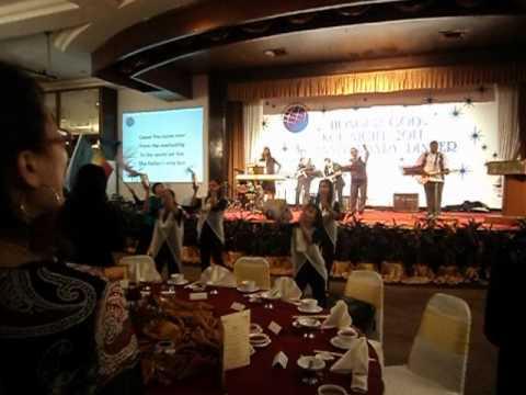 KCF ANNIVERSARY- FGCC KL Tambourine dance