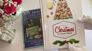 Обзор книг по вышивке крестиком из библиотеки