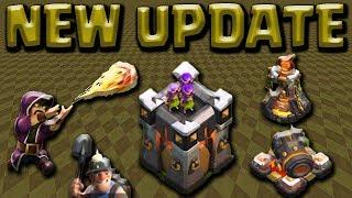 UPDATE SNEAK PEAK! TH10 TH11 Troops & Buildings + Game Play | Clash of Clans