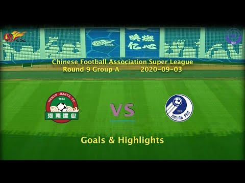 [CSL] 20200903 Round 9 Group A Henan Jianye vs Dalian Professional