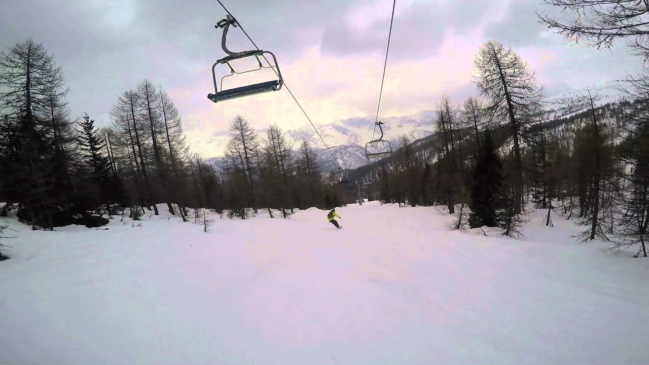 Chiesa in valmalenco 2016 | snowboard & ski | gopro hero 4