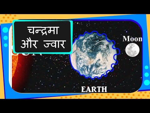 Science - Universe - How Tides Occur - Hindi