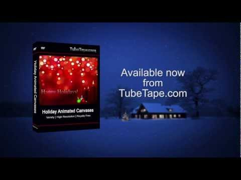 Holiday Animated Canvases - Motion Graphics