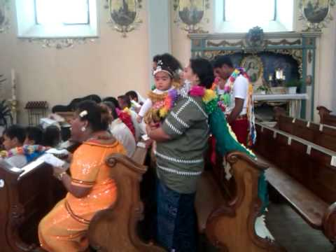 La Chorale de Wallis et Futuna à l' église de Hoff (12/07/2015)