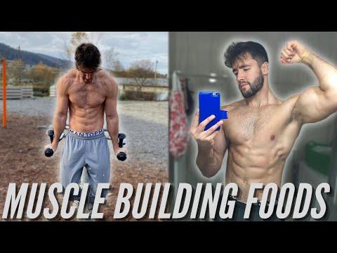 MY TOP 3 VEGAN MUSCLE BUILDING FOODS