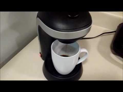 Kitchen Selectives Single Drip One Cup Coffee Maker Review Youtube