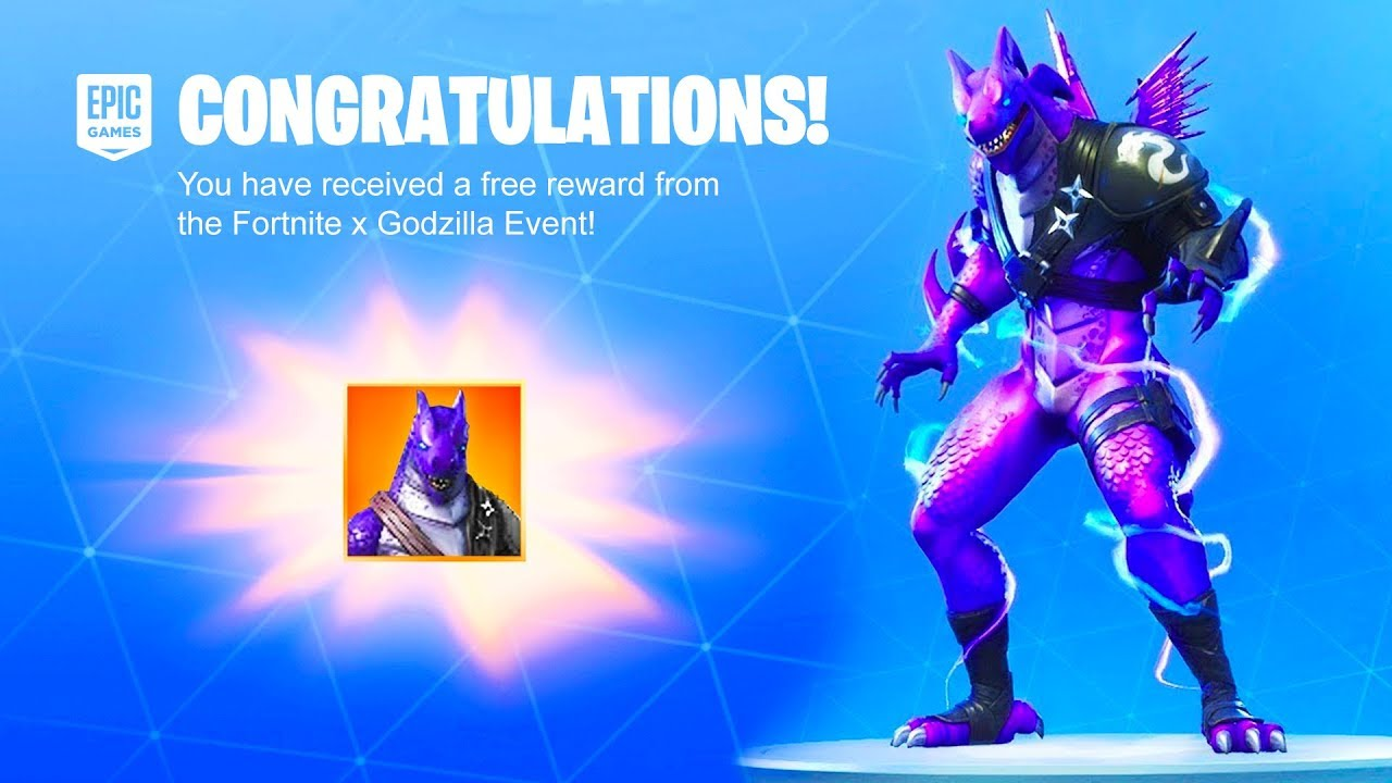 The Godzilla Event Free Rewards Now In Fortnite
