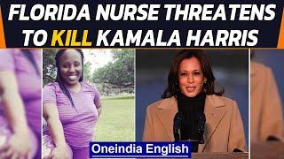 Florida nurse arrested for threating to kill US Vice President Kamala Harris | Oneindia News